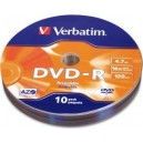 DVD-R 4.7GB Verbatim 10 Pack