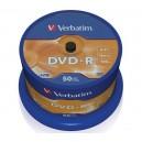 DVD-R 4.7GB Verbatim 50 psc