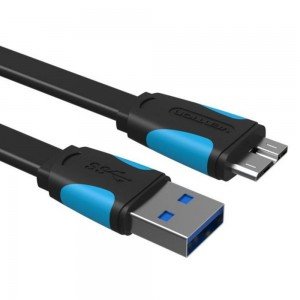 კაბელი USB To Mini USB 1.5m Vention (VAS-A58-B150)