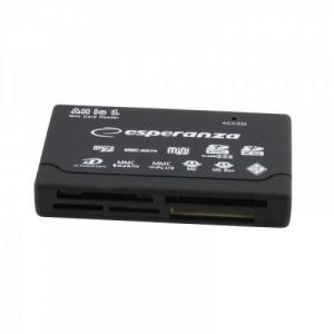 ბარათის წამკითხველი Esperanz EA119  USB 2.0 AlI in One