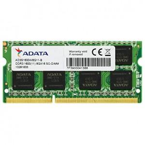 ოპერატიული მეხსიერება 4GB DDR3 SODIMM PC1600 A-DATA