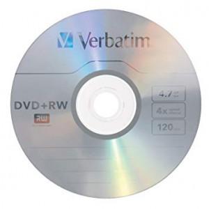 DVD+RW 4.7GB Verbatim